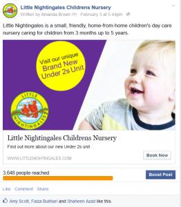 Baby unit advert 8th Feb 2015