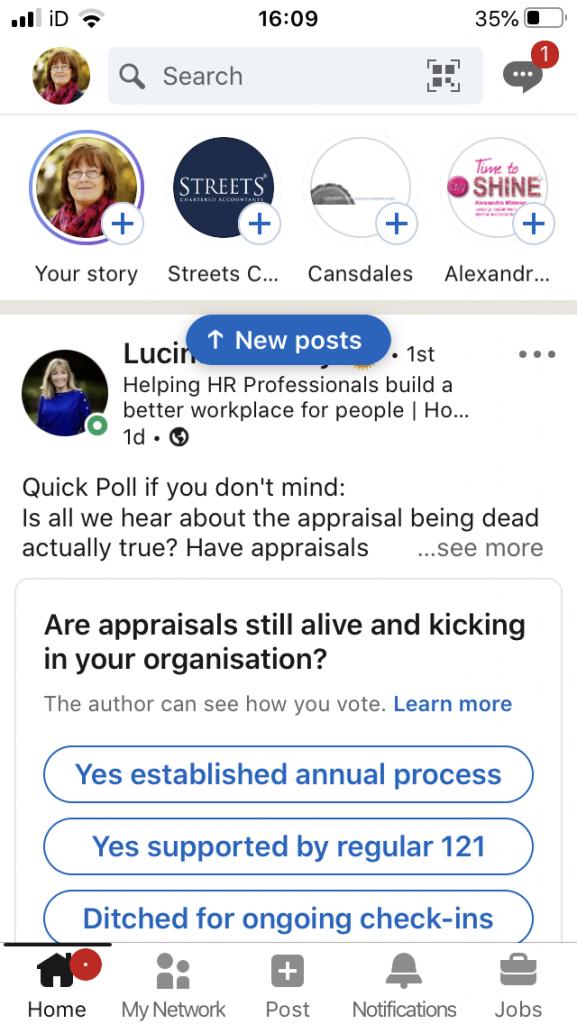 LinkedIn Story
